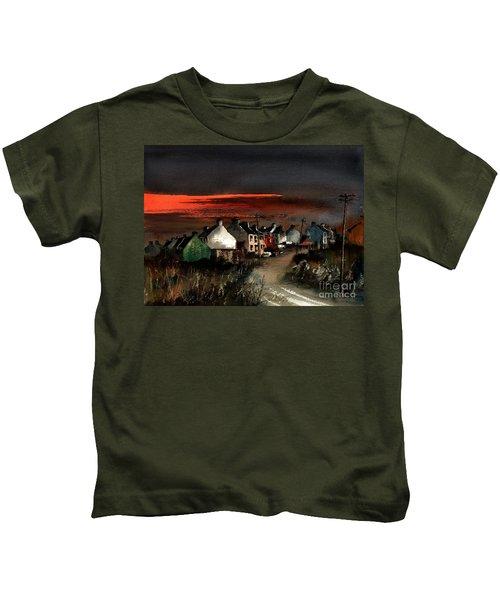 Cork Beara Eyeries Sunset Beara Kids T-Shirt