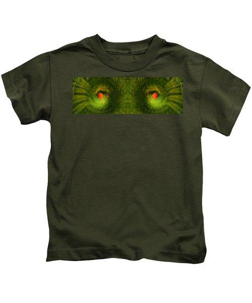 Eyes Of The Garden-2 Kids T-Shirt