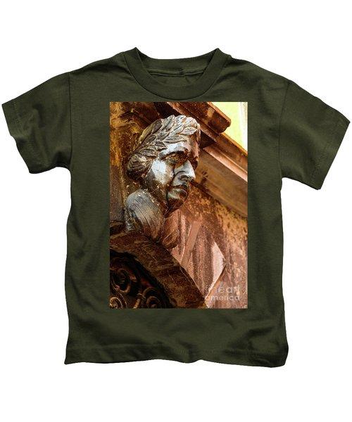Face In The Streets - Rovinj, Croatia Kids T-Shirt