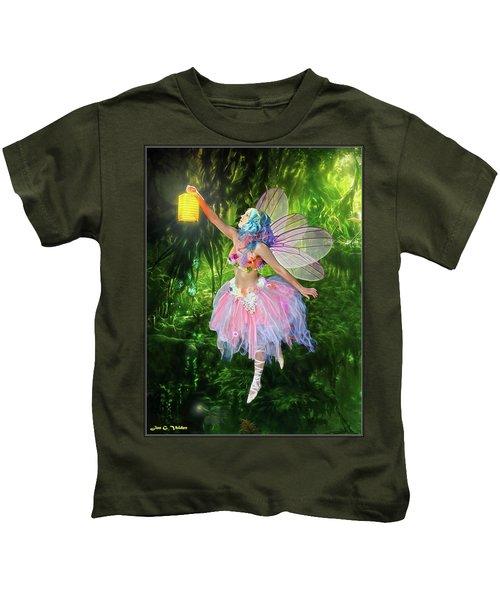 Fairy With Light Kids T-Shirt