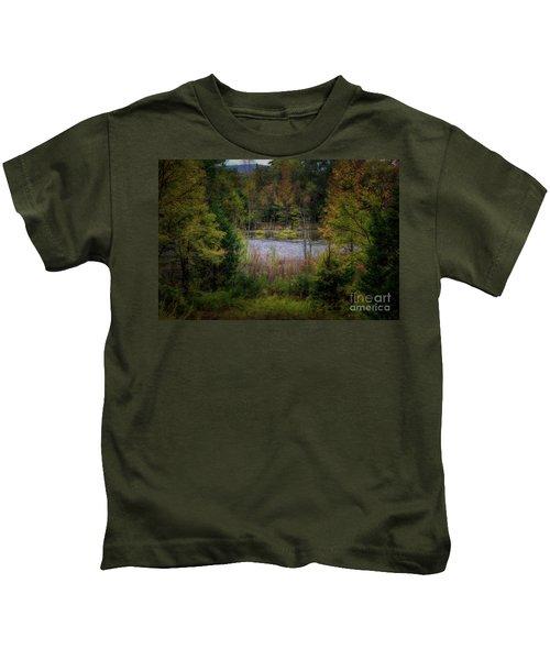 Fall At Fane Creek Kids T-Shirt