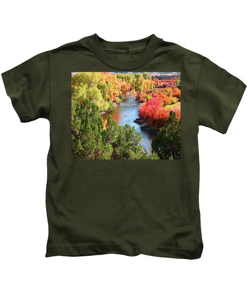 Fall Beauty Kids T-Shirt