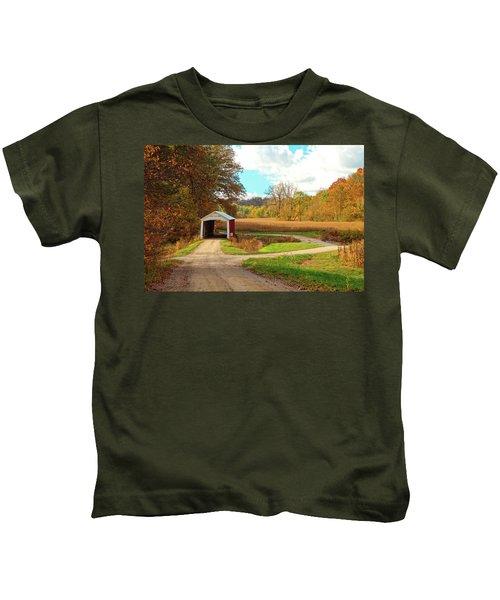 Fall Harvest - Parke County Kids T-Shirt