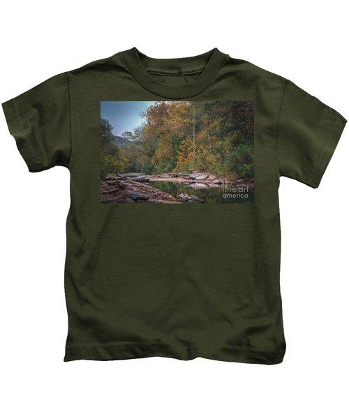 Fall In Arkansas Kids T-Shirt