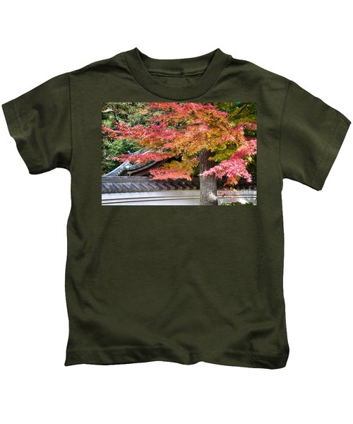 Fall In Japan Kids T-Shirt