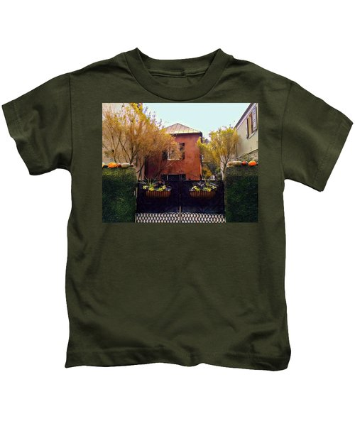 Fall Into Charleston Kids T-Shirt