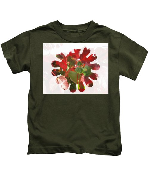 Fall Leaves #9 Kids T-Shirt