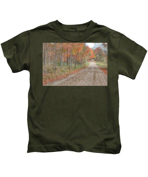 9018 - Fall On Murphy Lake Iv Kids T-Shirt