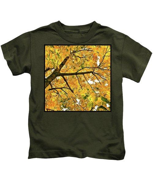 Fall On William Street Kids T-Shirt