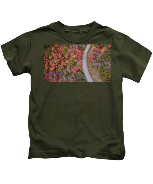 Fall Road Kids T-Shirt