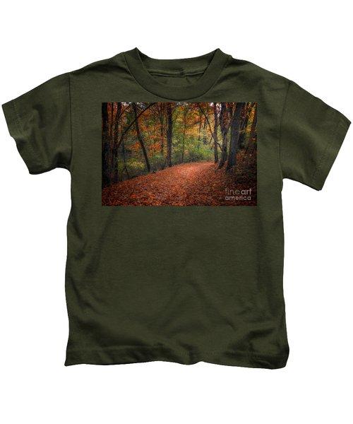 Fall Trail Kids T-Shirt