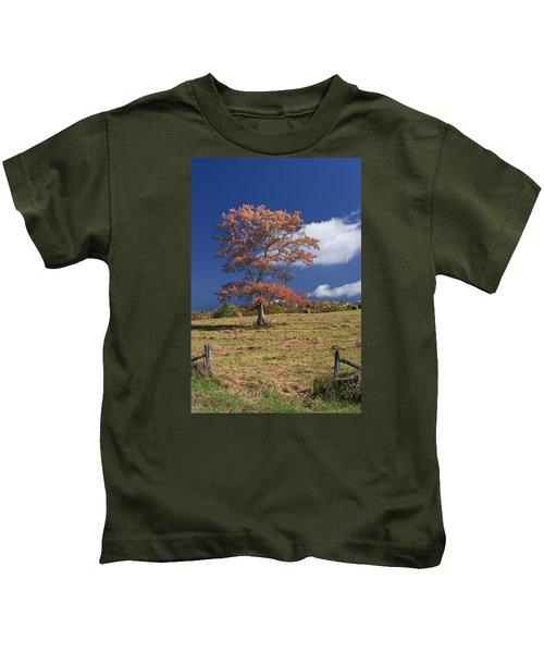 Fall Tree Kids T-Shirt