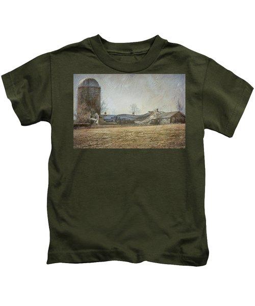 Fallen Barn  Kids T-Shirt