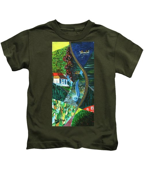 Falls, Fingers And Gorges Kids T-Shirt