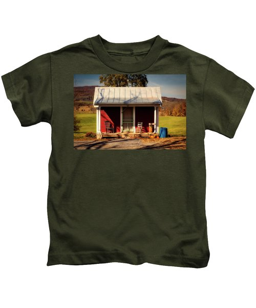 Fancy Outhouse Kids T-Shirt