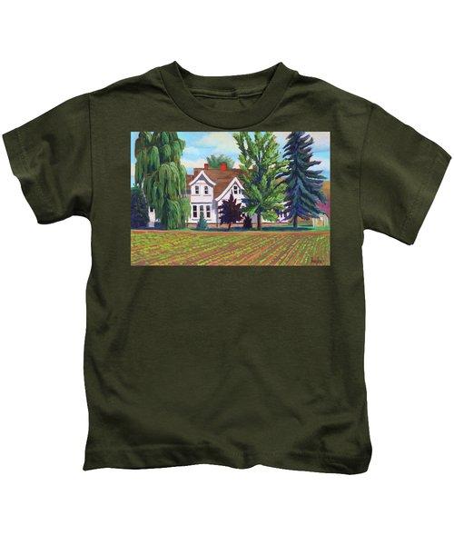Farm House - Chinden Blvd Kids T-Shirt