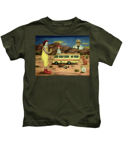 Fast Food Nightmare 5 The Mirage Kids T-Shirt