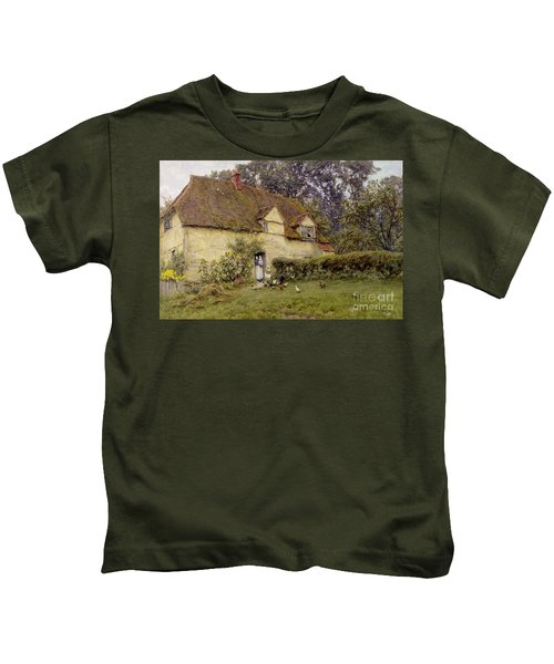 Feeding The Fowls Kids T-Shirt