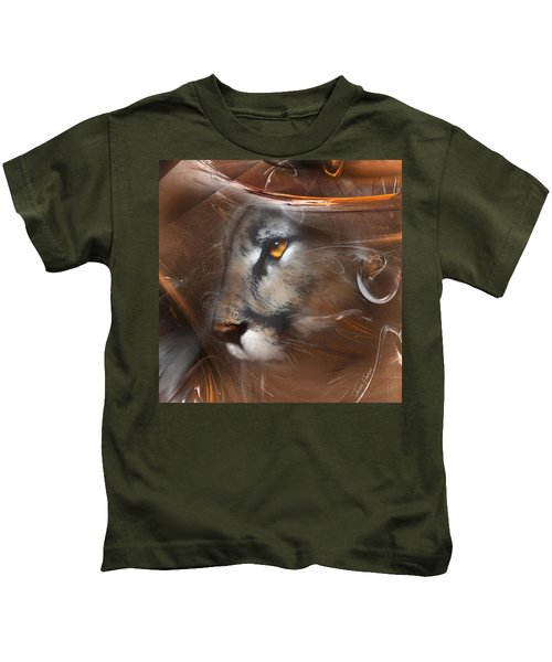 Feline Princess Kids T-Shirt