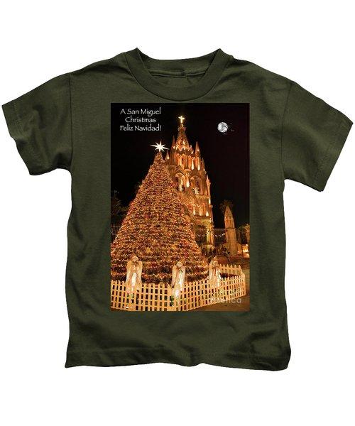 Feliz Navidad Kids T-Shirt