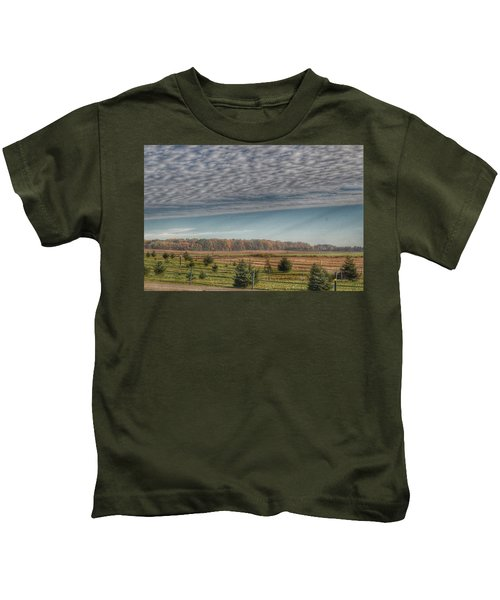 9017 - Fences, Firs And Fall Kids T-Shirt