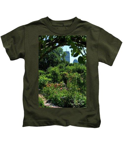 Fenway Victory Gardens In Boston Massachusetts  -30951-30952 Kids T-Shirt