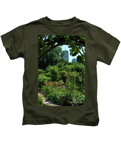Fenway Victory Gardens In Boston Massachusetts  -30951-30952 Kids T-Shirt