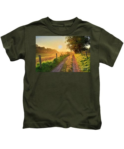 Field Road Kids T-Shirt