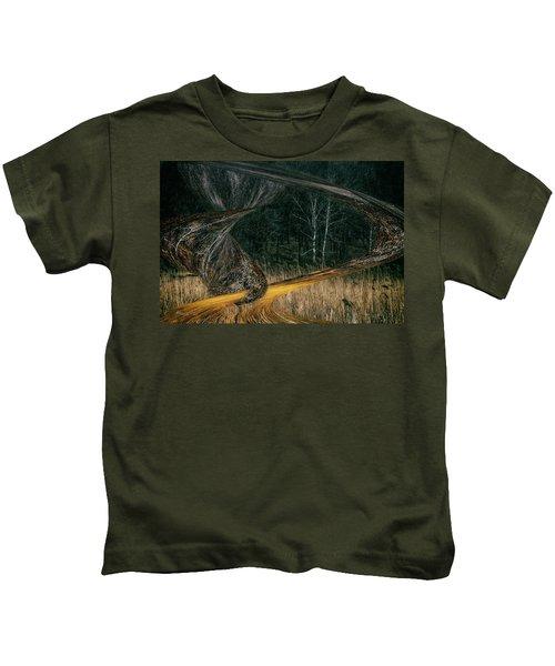 Field Warping Kids T-Shirt