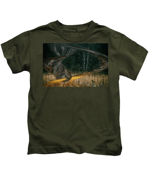 Field Warping Kids T-Shirt