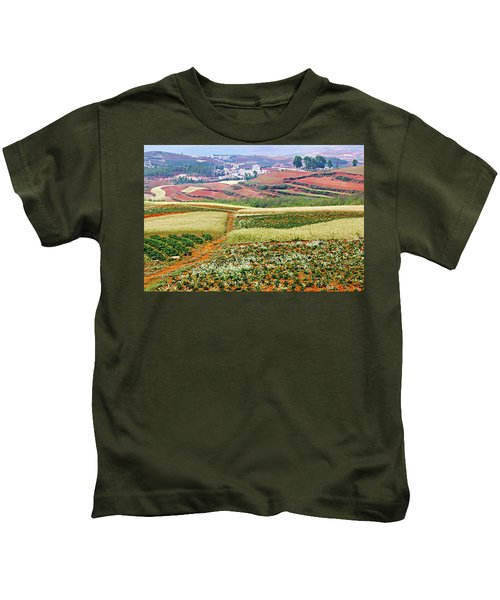 Fields Of The Redlands-1 Kids T-Shirt