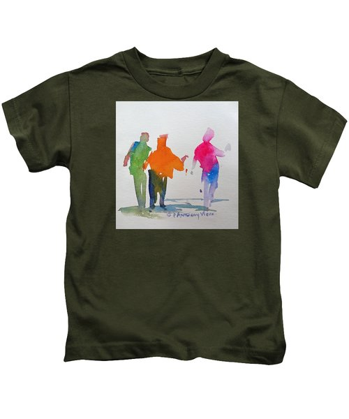 Figures In Motion  Kids T-Shirt