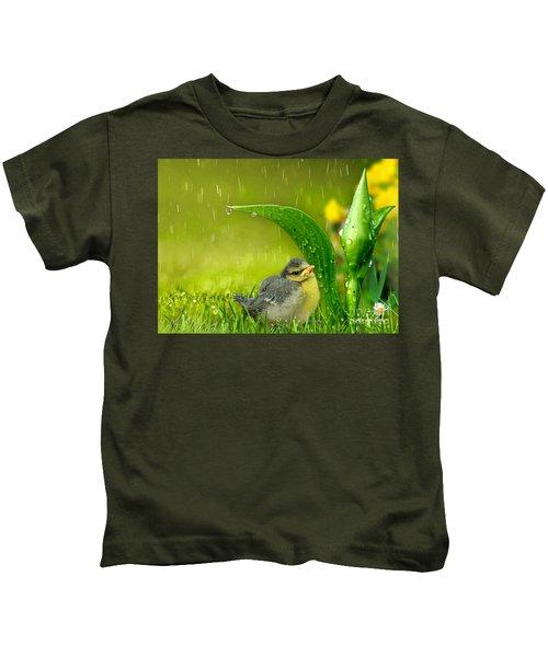 Finding Shelter Kids T-Shirt