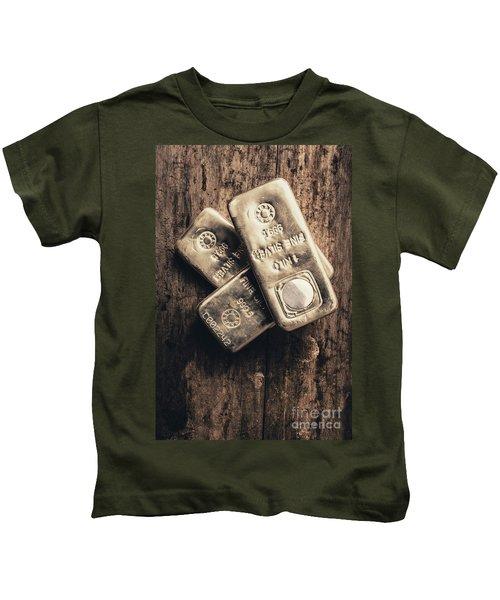 Fine Silver 999 Kids T-Shirt