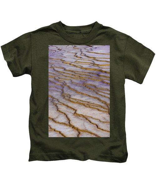 Fingerprint Of The Earth Kids T-Shirt