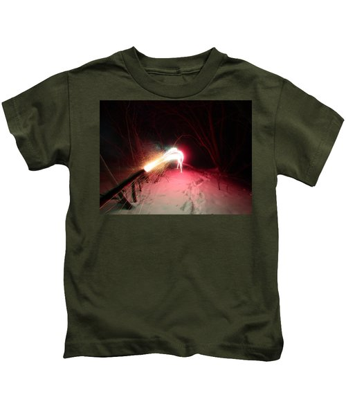 Fireworks Kids T-Shirt