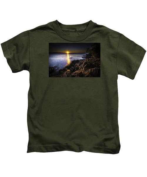 First Rays Over The Adriatic Kids T-Shirt