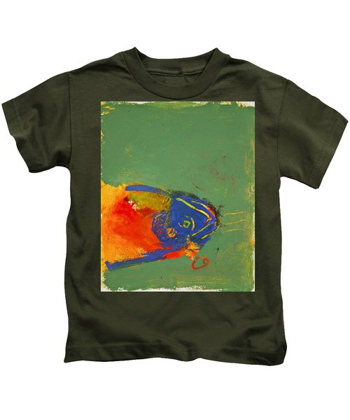 Fish Pondering The Anomaly Of Mans Anamnesis Kids T-Shirt