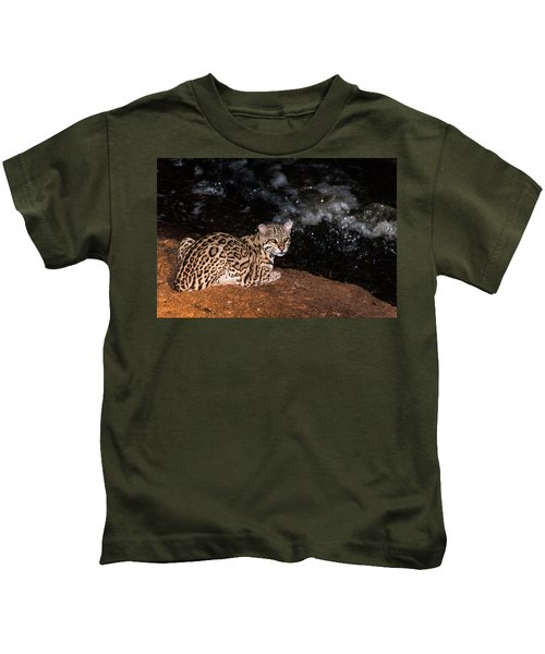 Fishing In The Stream Kids T-Shirt