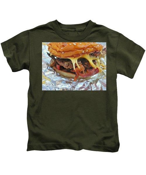 Five Guys Cheeseburger Kids T-Shirt