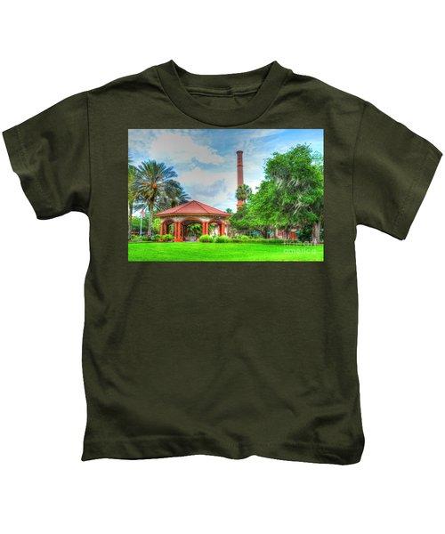 Flagler College Campus Kids T-Shirt