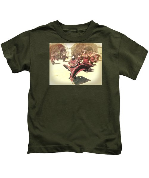 Flaring Skirts Kids T-Shirt