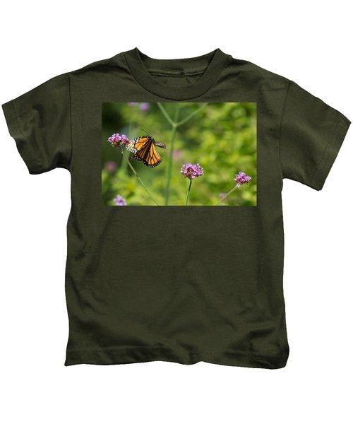 Flight Of The Monarch 2 Kids T-Shirt