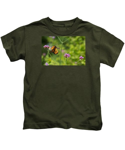 Flight Of The Monarch 2 Kids T-Shirt