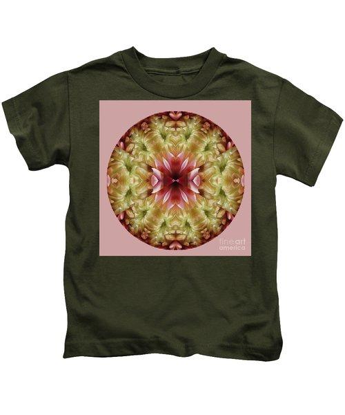 Flower Mandala Kids T-Shirt