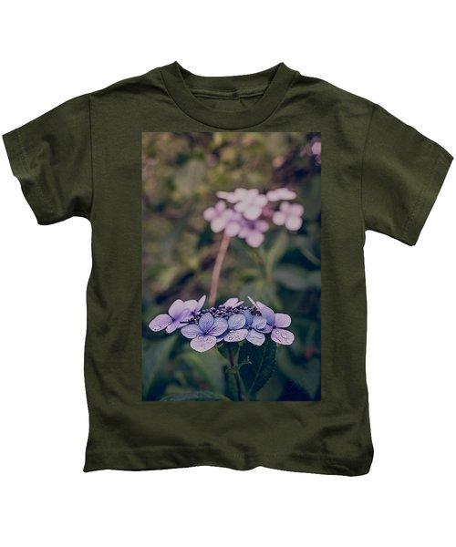 Flower Of The Month Kids T-Shirt