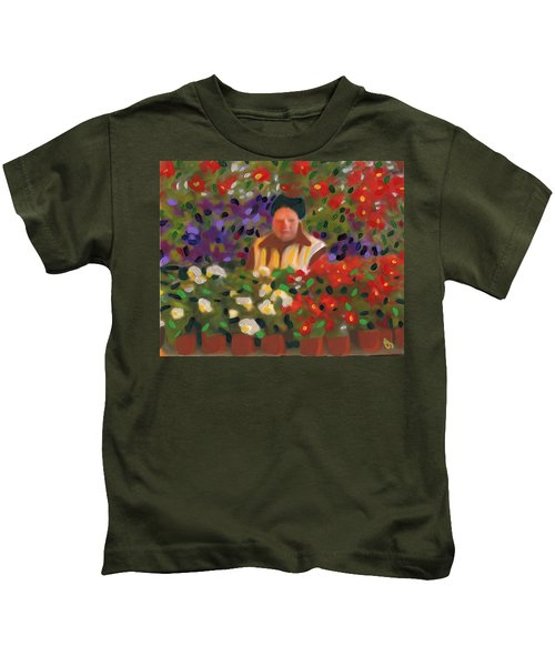 Flowers For Sale Kids T-Shirt