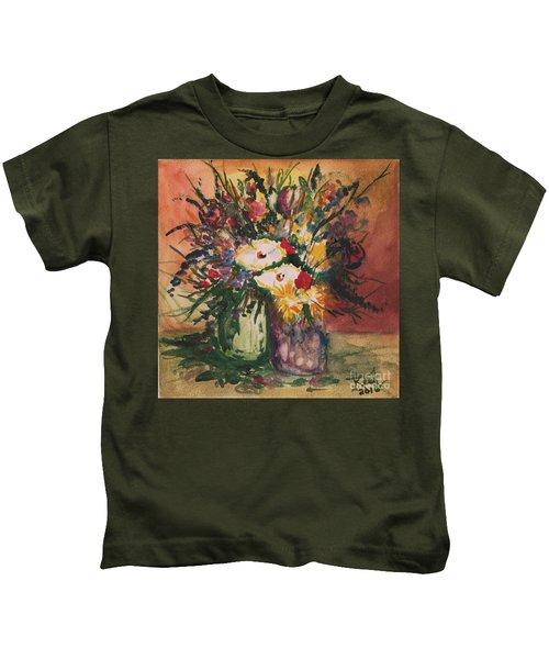 Flowers In Vases Kids T-Shirt