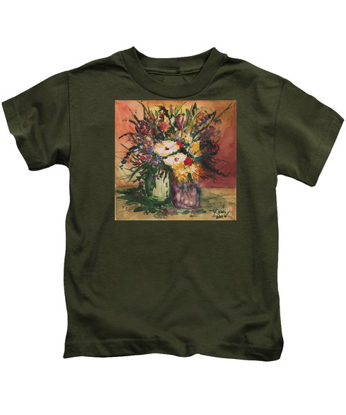 Flowers In Vases Kids T-Shirt