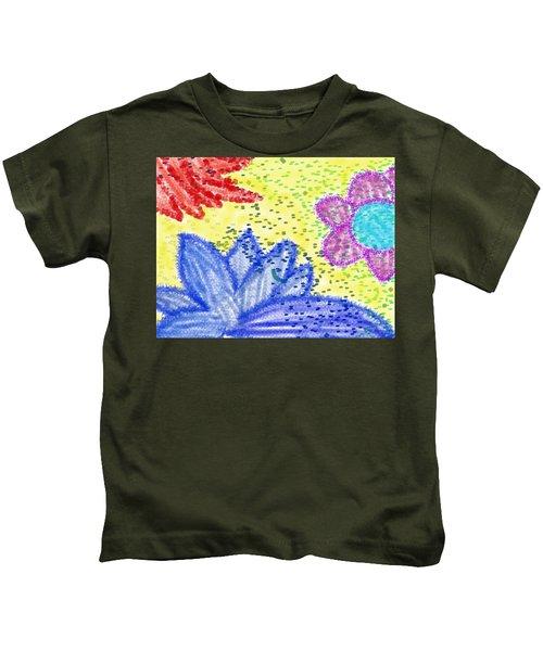 Flowery Lotus Kids T-Shirt